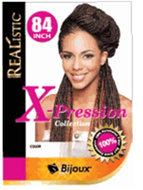 ican i dye bijoux realistic hair bijoux xpression braiding hair