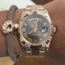 Rolex Balok Silver Cover Silver rolex day date ii pair with ver 220 s bracelet 27500for more