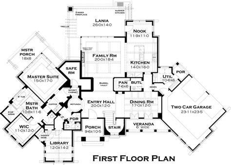 custom home building plans italian tuscan floor plan from abg alpha builders group