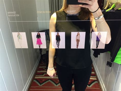 The Technology To Hit The Fitting Rooms Interactive Mirrors by Ralph Interactive Mirrors Business Insider