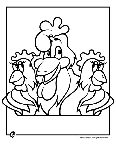 chicken face coloring page chicken face coloring pages