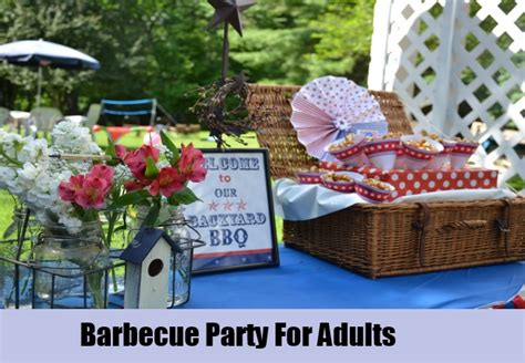 unique party ideas for adults how to organize a party