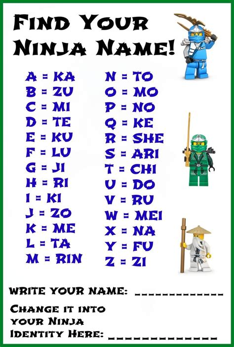 Find By Name Name Activity For The Kiddos S Lego