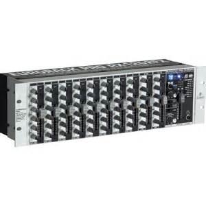 Rack Audio Mixer Behringer Rx1202fx Eurorack Pro Rackmount 12 Input Mixer