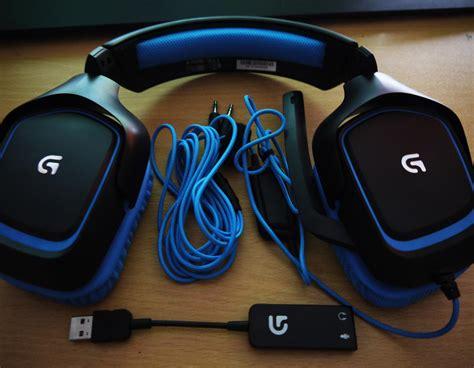 Headphone Logitech G430 logitech g430 headset review vgu