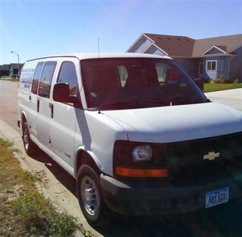 how to sell used cars 2004 chevrolet express 3500 user handbook purchase used 2004 chevy express cargo van g2500 in sioux falls south dakota united states