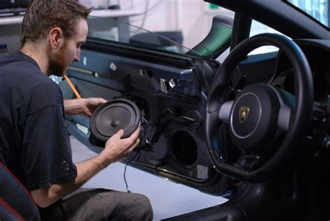Lamborghini Audio Gallardo Lamborghini Much Needed Sound Upgrade Ultra