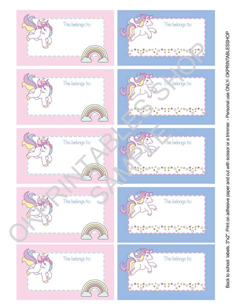 Printable Label Stickers