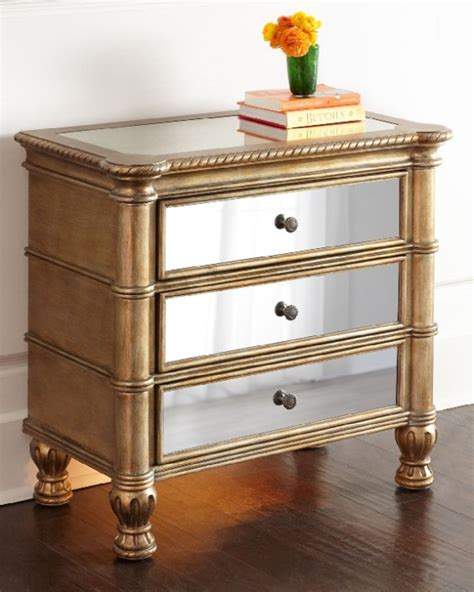 Mirrored Glass Nightstand Must Mirrored Nightstands To Glam Up Your Bedroom Candie