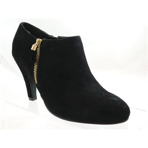 boot and shoe lotus black suede toe shoe boot lotus from