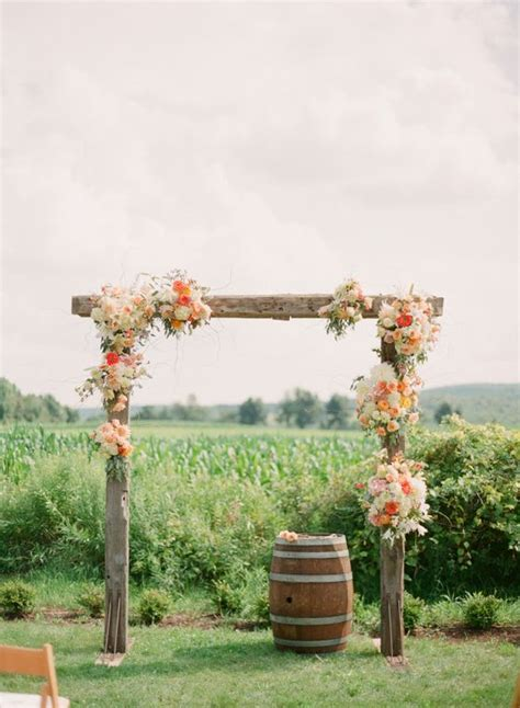 how to make a rustic wedding arch 27 fall wedding arches that will make you say i do