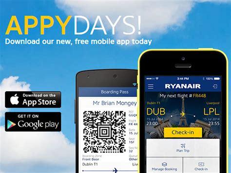 ryanair mobile ryanair lance sa nouvelle app pour smartphone air journal