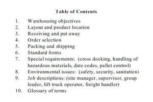 company operations manual template multibrief why and how to prepare a warehouse operations