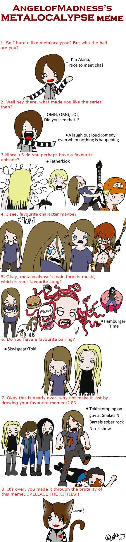 Metalocalypse Meme - metalocalypse meme by eparnam on deviantart