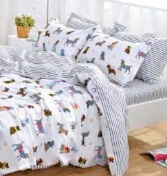 Bedding Sets With Dogs Yoyomall Cotton Bedding Set