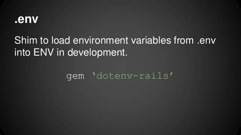 Rack Environment Variables by Toolbox Of A Ruby Team