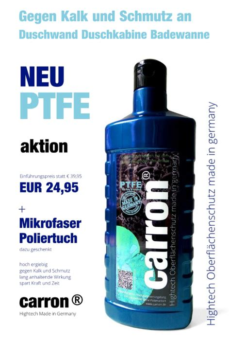 Duschkabinen Versiegelung Test by Hightech Oberfl 228 Chenschutz Mit Lotuseffekt Pflege Politur
