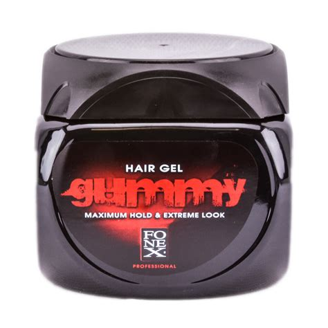 gummy hair gel maximum hold walmart com fonex gummy hair gel maximum hold extreme look 32 oz