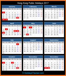 Barbados Calendario 2018 Hong Kong Holidays 2017 Holidays Tracker