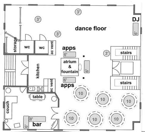 ballroom layout tool another sle of layout you can do on our 3rd floor this