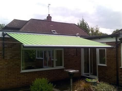 striped awnings retractable patio awnings gallery samson awnings terrace covers
