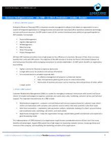 Sap Bi Developer Sle Resume by Business Intelligence Resume Sap Bi Bobj Ato 1988 11 2015 Amste