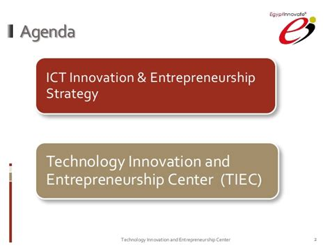 Mba In Management Of Technology Entrepreneurship And Innovation by Tarek El Sadany Ceo Of Technology Innovation And