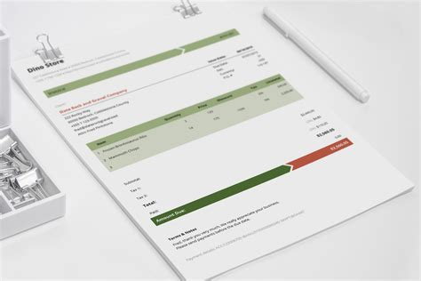 corporate design invoice business invoice template armo