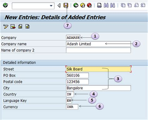 sap va21 tutorial how to create a company in sap define company in sap