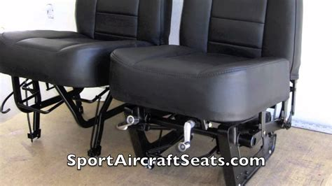 new seat upholstery cessna 185 brand new seat upholstery youtube