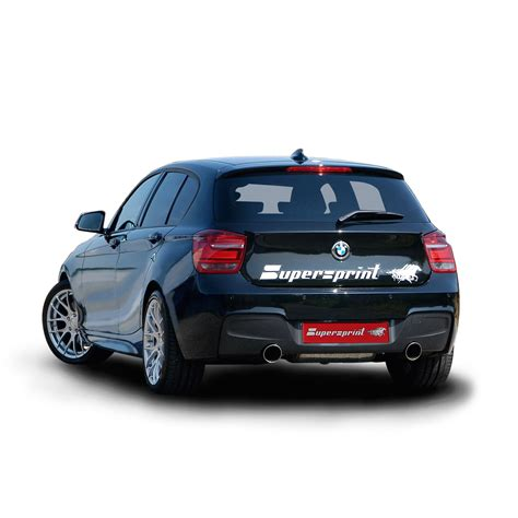 Supersprint Catback System Bmw F30 320 N20 Engine Before Lift bmw f20 f21 m135i 320 hp 2012 gt supersprint exhaust system 2 official