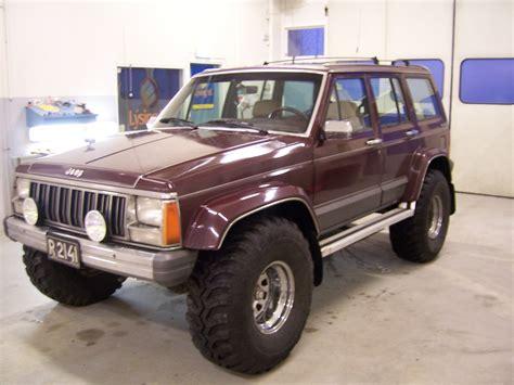 wide jeep 1988 jeep xj 33 quot tire modified wheel wells wide fender
