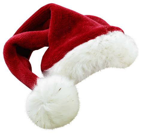 christmas santa claus hat large transparent png stickpng