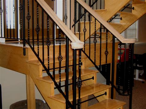 premade banister stairs new released interior railing kits pre made stair