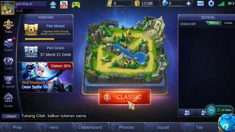 mobile legend fb cara mengaitkan akun fb di mobile legends