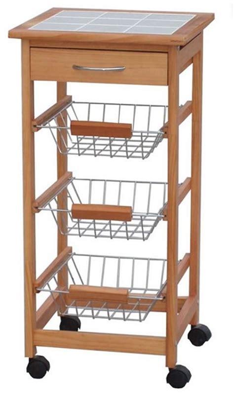 carrelli cucina in legno carrello da cucina in legno h12215