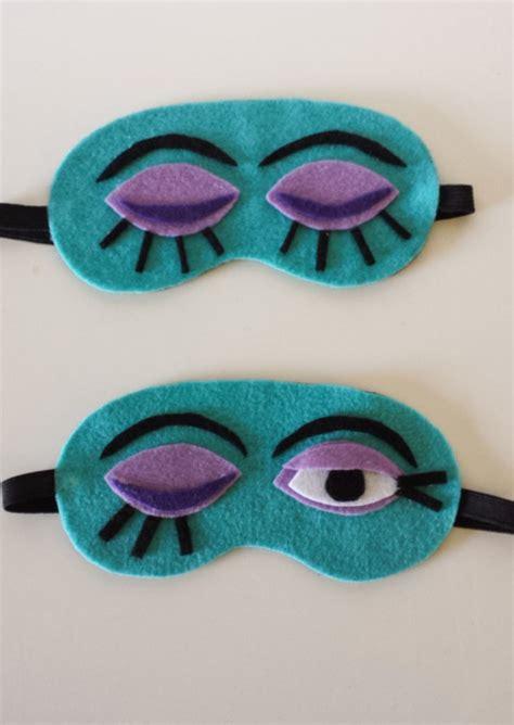 diy mask sleep mask diy