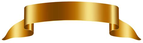 ribbon png ribbons and gold on pinterest gold banner free png clip art image gallery yopriceville