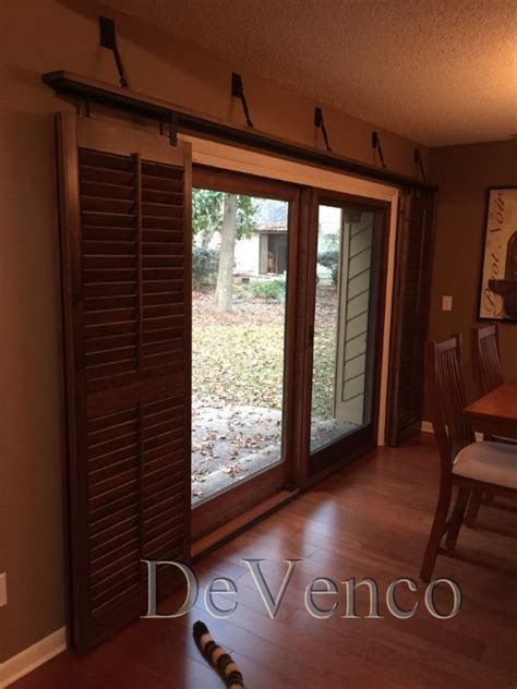 sliding louvered patio doors rolling shutters for glass sliding doors