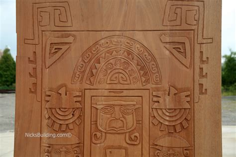 Carved Doors by Carved Doors Exterior Carved Mahogany Doors