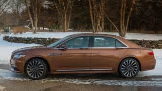 2017 lincoln continental review roadshow