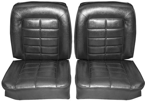 Seats Upholstery by Seat Upholstery 1964 Buick Riviera Front Rear Buckets