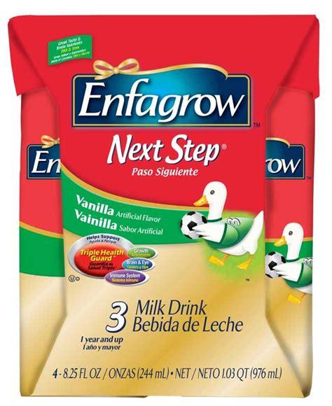 Enfagrow 4 Vanilla enfagrow toddler next step vanilla for toddlers 1 year and up 72 ounce health