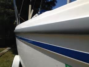 how to install boat rub rail insert rub rail insert replacement struggle sailboatowners