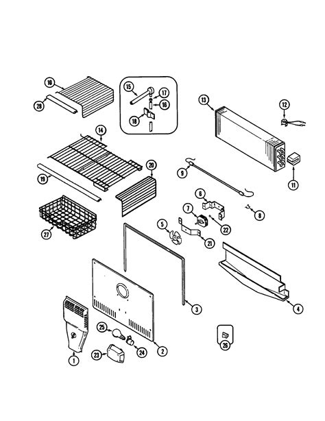 maytag refrigerator parts diagram 301 moved permanently