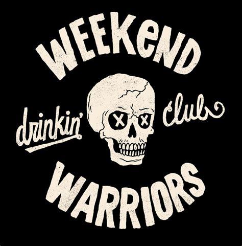 Weekend Warriors roeder freelance illustration lettering design