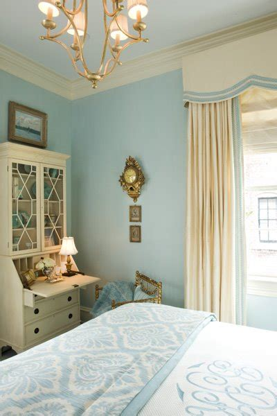blue cream bedroom cornice box ideas transitional bedroom kelley