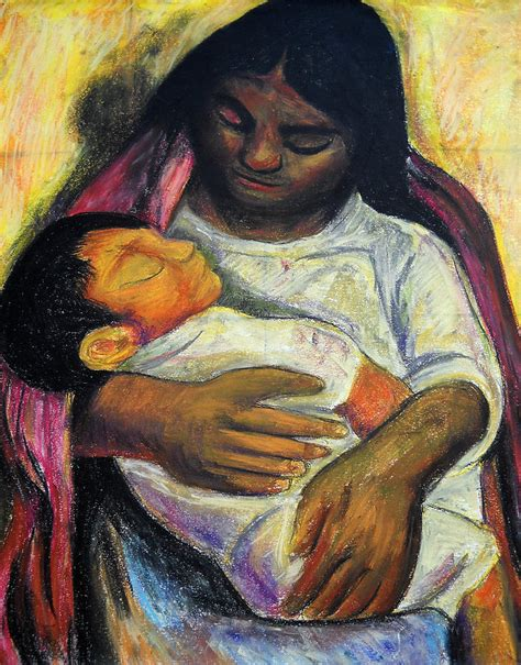 diego painting reproduction of diego rivera s and child painting