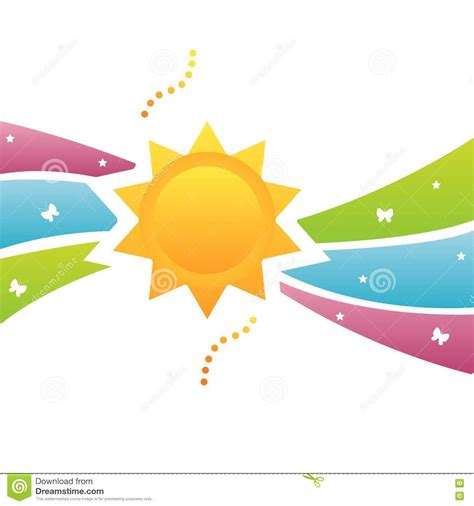 colorful sun colorful sun background royalty free stock photo image