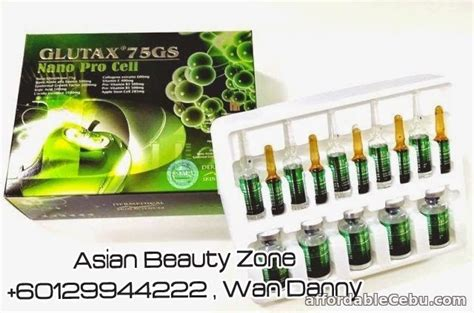 Glutax 75gs Nano Pro Cell glutax 75 gs nano pro cell for sale alcantara cebu